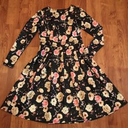 Αστείο φόρεμα με λουλούδια