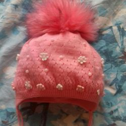 шапочка зимняя до 1года