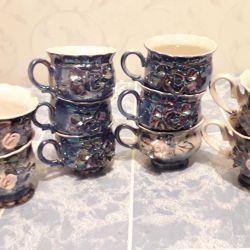 Set of cups 5 pcs. Plus 3 pcs.