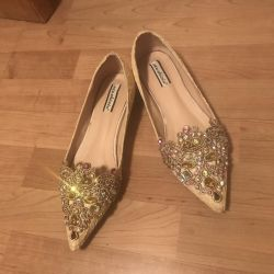 Ballet flats in the style of East / Aladdin 39 size