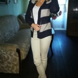 Two new cardigan p.44-46