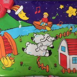 Musical rug for children