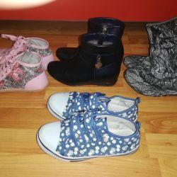 Pantofi pentru fete, r-p 35