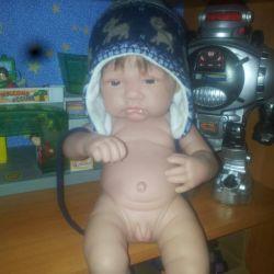 Janus cap from mothercare + janus mittens