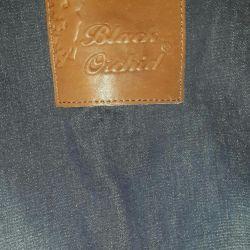 Denim overalls