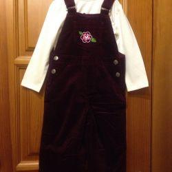 New Barkito 92 Children's overalls