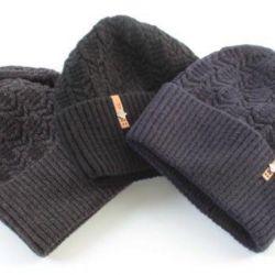 Men's new hats (70% wool, 30% acrylic)