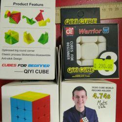 Rubik küpü savaş savaşçısı w QIYI küpü