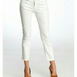Λευκά τζιν παντελόνια