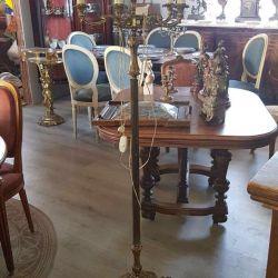 Floor lamp antique bronze