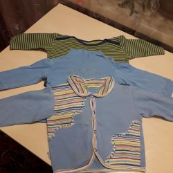 Sweatshirts body breeches from 4 to 9 months.