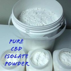 99% pure CBD isolate powder and Full Spectrum CBD