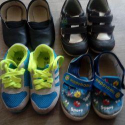 Çocuğa ayakkabı satacağım