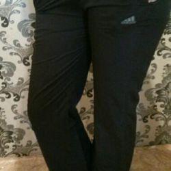 new sports pants / exchange