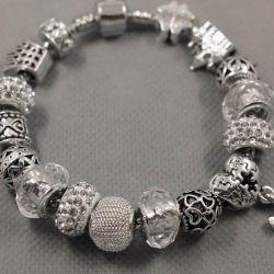 Bracelet in the style of Pandora 0392