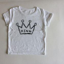 Tricou nou pentru mic / virgin 88-100 cm
