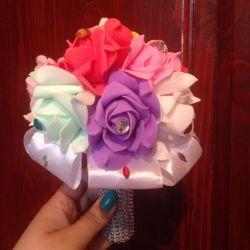 Brooch-bouquet Rainbow