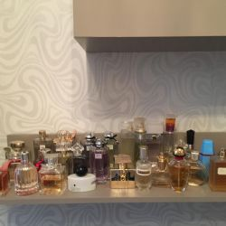 Kişisel koleksiyondan parfümler