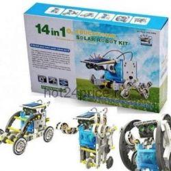 Solar robot 14 in 1 constructor solar bat-x