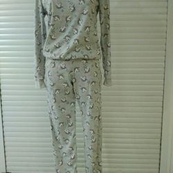 Suit with trousers, 100% cotton (p-series 42-52)