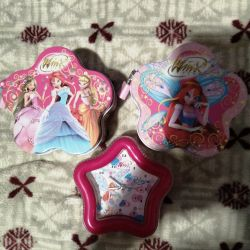 Winx watches and money boxes