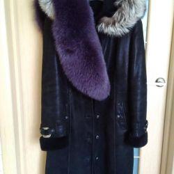 Δερμάτινη παλτό 2v1 (naturalka)