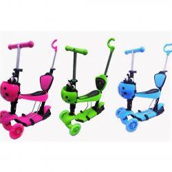 Çocuk çok fonksiyonlu scooter 5'i 1 arada