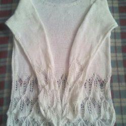 Fantezi sweatshirt el örgüsü boyutu 46-48