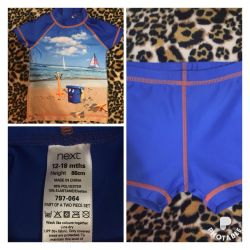 Beach suit for swimming next