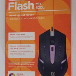 Computer mouse wired Defender Flash MB-600L