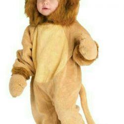 Carnival costume lion cub