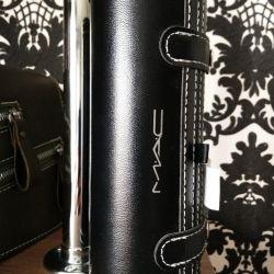 MAC Tuba with makeup brushes