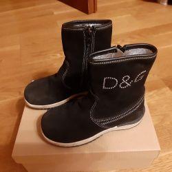 Orijinal D & G 26 beden çizme