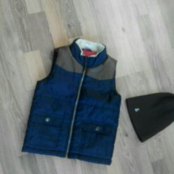 P.5-6l. Stylish vest for a boy