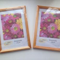 Photo frame size 21x30 cm