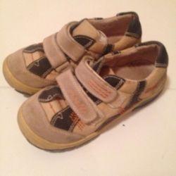 sneakers leather natur orthopedics
