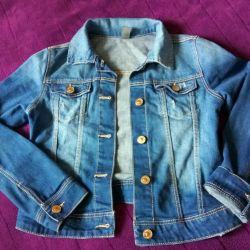 Kızlar için ceket kot pantolon