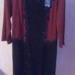 Платье трикотаж,в реале смотрятся красиво р.50,52