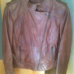 Jachetă din piele, dimensiunea 46-48