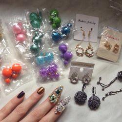 Earrings in stock