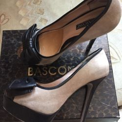 Shoes BASCONI suede + leather 37 size