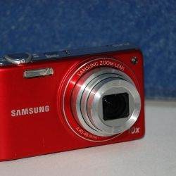 Samsung PL210 Digital Camera Red (14.5MP)