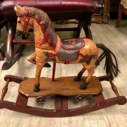 Antique rocking chair France