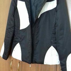 Bir kaput ile ceket