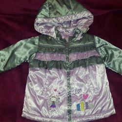 Demi-season jacket new