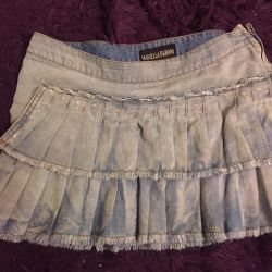 Mariella burani denim skirt