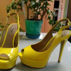 Туфли натур. (фирма Пауло Конте) р.38