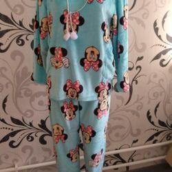 Plush pajamas