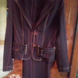 Γυναικείο κοστούμι παντελόνι
