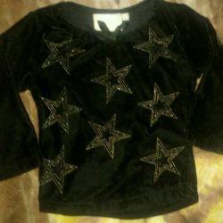 Velvet blouse 86 cm: sale or exchange